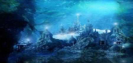 atlantis underwater city crystal heaven