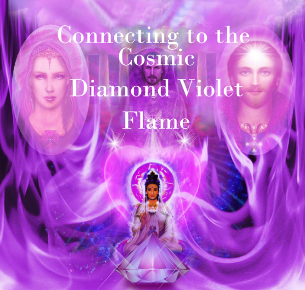 Connecting to the Cosmic Diamond Violet Flame Meditation Download