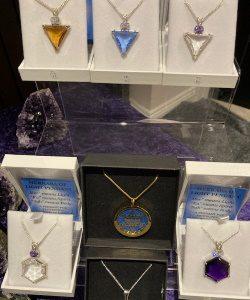 Crystal and Sacred Geometry Jewellery