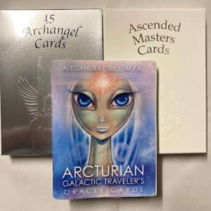 Archangel / Ascended / Galactic Card decks